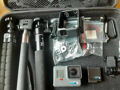 $ CDN303.64 • Buy GoPro HERO6 Black HD 4K Action Camera Camcorder, Case, And Lots Of Accessories