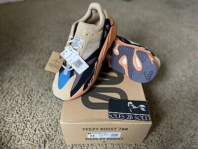 """$ CDN503.54 • Buy Adidas Yeezy Boost 700 """"Enflame Amber"""" Mens Size 13"""
