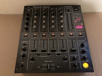 £212.36 • Buy Pioneer DJM-500 4-Channel Dj Mixer (fully Functional) Tested (Used) See Pics !