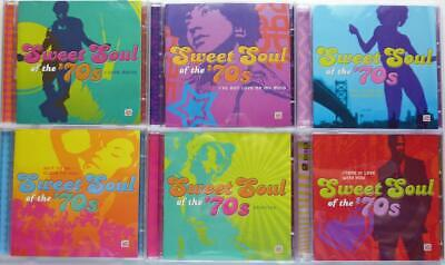 £70.28 • Buy TIME LIFE Sweet Soul Of The 70s 11 CD SET NEW SEALED