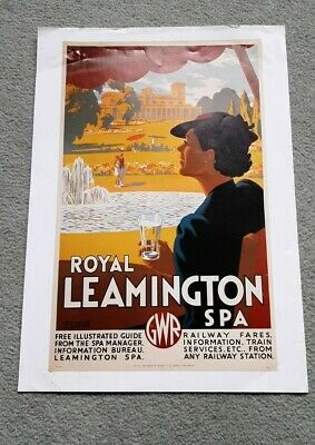£2.50 • Buy Vintage Reproduction GWR Railway Poster