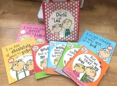 £7.99 • Buy Charlie And Lola - Lauren Child - 7 Books And Bag