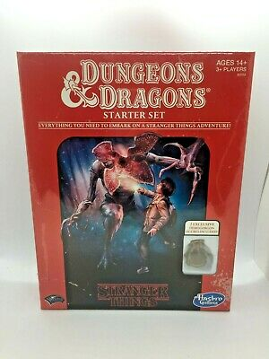 £22.99 • Buy Stranger Things - Dungeons & Dragons Starter Set - Intro To D&D - NEW And Sealed
