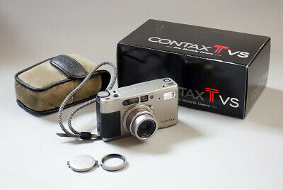$ CDN560.27 • Buy Exc Contax TVS Point & Shoot 35mm Film Camera From JAPAN #705