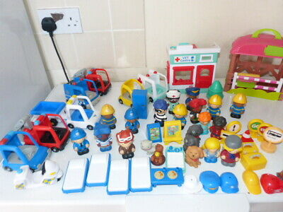 £30 • Buy Huge Toy Bundle Chad Valley Tots Town Vets Centre Figures Vehicles Playset