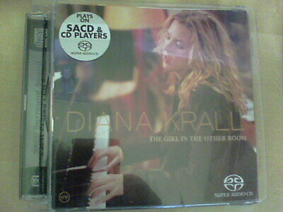 £9.50 • Buy Diana Krall - The Girl In The Other Room Sacd - Super Audio Cd Elvis Costello