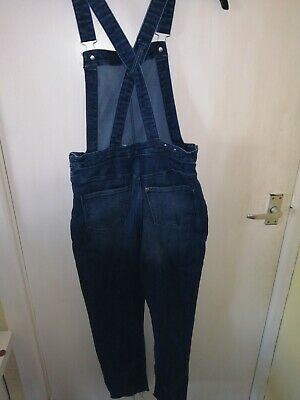 £1.70 • Buy Girls Denim Dungarees Ages 12 To 13 H&m