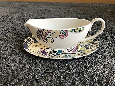 £4.99 • Buy DENBY Monsoon Cosmic Gravy Boat And Stand