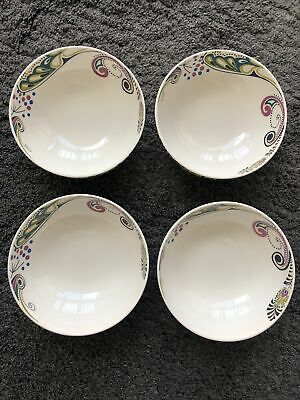£9.99 • Buy DENBY MONSOON Cosmic 6 1/4  Cereal Bowls X 4 - EXCELLENT