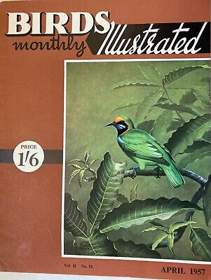 £1.99 • Buy BIRDS ILLUSTRATED Monthly-Vol.II, No.12, APRIL 1957-The Passing Of The GREAT AUK