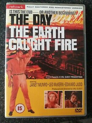 £5 • Buy THE DAY THE EARTH CAUGHT FIRE . DVD . Edward Judd.