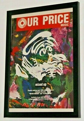 £12.99 • Buy THE CURE Framed A4 1990 `mixed Up` ALBUM Original Band Promo ART Poster