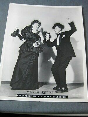 $2 • Buy Ma And Pa Kettle Goes To Town Movie Publicity Photograph 1950 Universal Studio