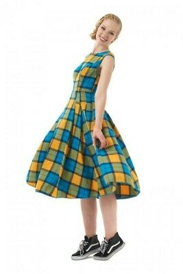 £1.20 • Buy Bright And Beautiful Astrid School Check Pinafore Dress, Size 10