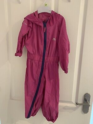 £2 • Buy Baby Girls Trespass Splaah/puddle Suit - Pink 18-24 Months
