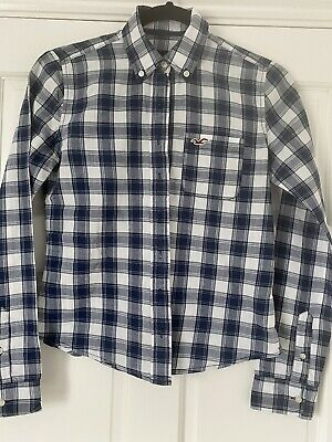 £3.50 • Buy Hollister Check Shirt Ladies Size XS
