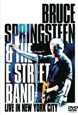 £4.24 • Buy Bruce Springsteen & The E Street Band: Live In New York City (DVD, 2000)