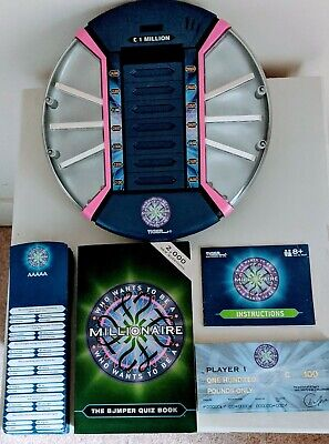 £12.99 • Buy Who Wants To Be A Millionaire Electronic Console Game Hasbro Tiger + Quiz Book