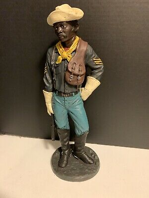 $165 • Buy VTG 1993 Craft House Positive Image Buffalo Soldier African American