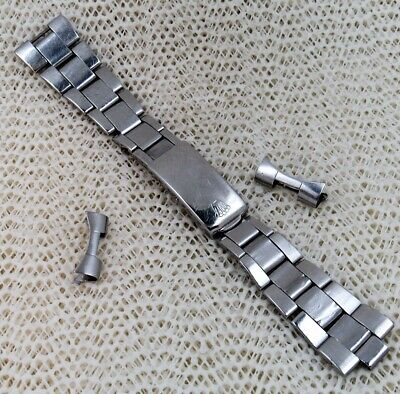 $ CDN230.96 • Buy 1970 Rolex Oyster Vintage Stainless Steel Project Bracelet, Spare Or Parts. 19Mm