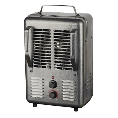 $73.30 • Buy 120-Volt Portable Electric Milk House Space Heater In Gray