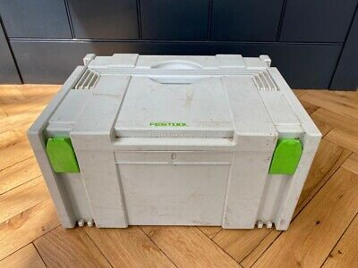 £15 • Buy Festool Systainer Stackable Storage Box Size 30cm By 40cm Height 21cm
