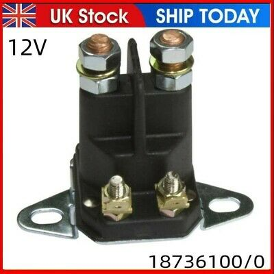 £10.88 • Buy 4 Pole 12V Solenoid Fits Many Lawn Tractor Ride On Mower 1134-2946-02 18736100/0