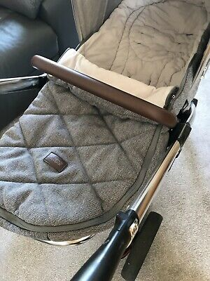 £40 • Buy Mamas And Papas Cold Weather Footmuff - Cosytoes - Buggy Snuggle - Grey Twill