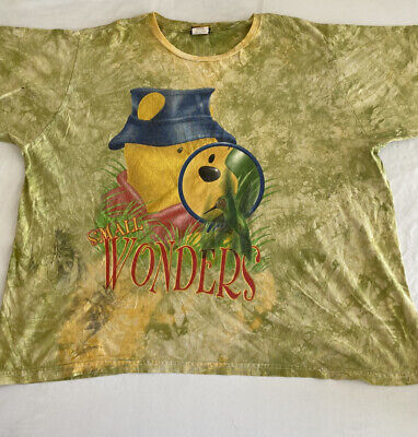 $14.99 • Buy Vintage Look Winnie The Poo Graphic Large Print Men's T-Shirt Size 3XL (MM61)
