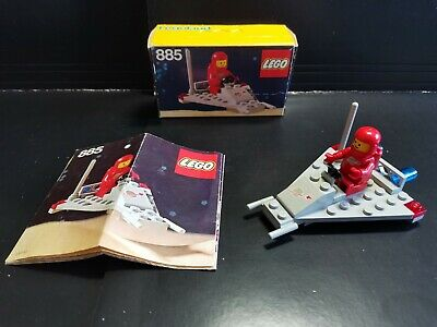 £37.99 • Buy LEGO 885 Space 100% Comp Box & Instructions Mint Condition For Age