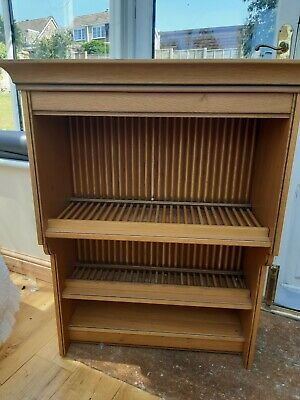 £15 • Buy Wooden Wall Mounted Plate Rack, Three Shelves 100cms High