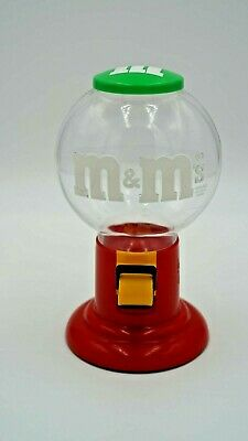 $14.99 • Buy Vintage 1991 M&M's Candy Dispenser Classic Logo Red Green Mars