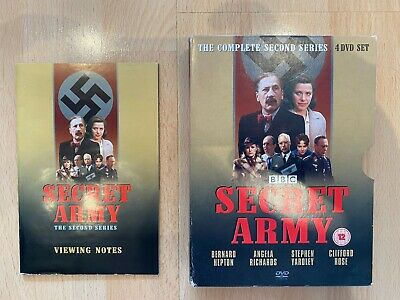 £4.99 • Buy SECRET ARMY COMPLETE SERIES 2 DVD 2nd Second Season Two Original UK Release R2