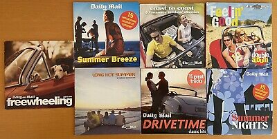 £2.99 • Buy 8 X Summerhits / Drivetime Daily Mail Promo CD's - 135 Tracks