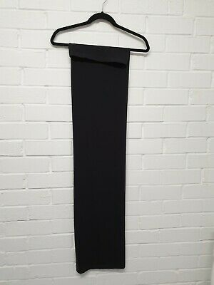 £40 • Buy A30. WOLFORD Long Black Tube Strapless Dress  Size XS