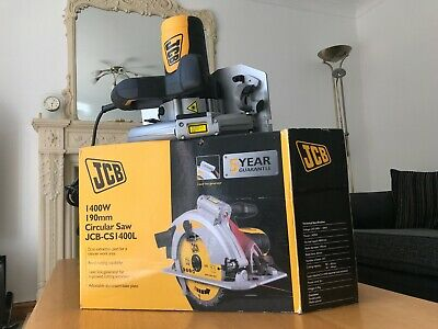 £29 • Buy JCB-CS1400L 190mm Corded Circular Saw With Laser Guide -1400w Brand New