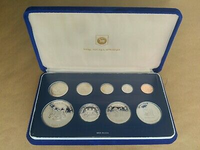 £200 • Buy 1980 Malaysia 9 Coin Proof Set Inc 3 Silver