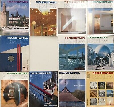 £29 • Buy Architectural Review 1990.  11 Issues.