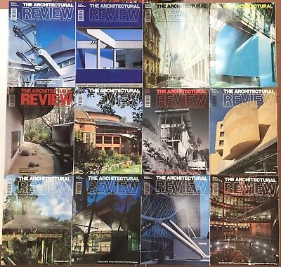 £29 • Buy Architectural Review 1994.  All 12 Issues.