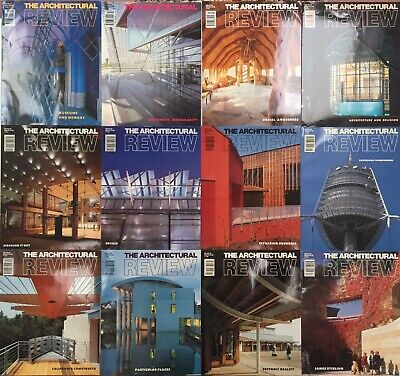 £29 • Buy Architectural Review 1992.  All 12 Issues Jan-Dec.
