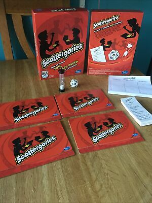 £15.99 • Buy Scattergories Fast, Fun Game Of Categories Hasbro 2013 Complete Fab Condition!