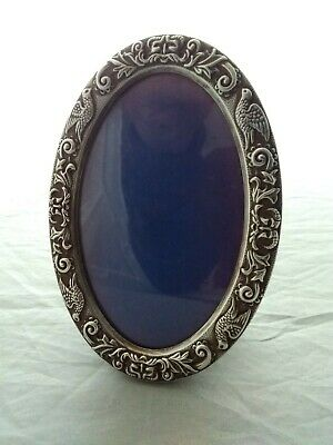 £48 • Buy Small Silver Rococo Style Oval Picture Photo Frame - Birmingham 1988