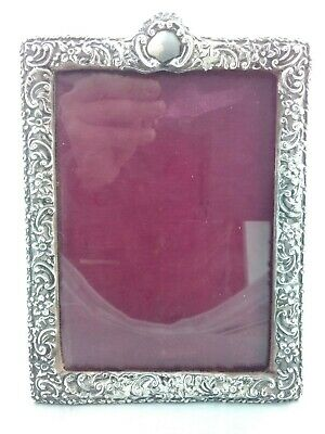 £120 • Buy Superb Medium Rococo Style Solid Silver Photo Picture Frame - Birmingham 1898