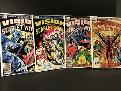 £7.61 • Buy The Vision And The Scarlet Witch # 1,2,3,4 ~8.5-9.0~ (RC)
