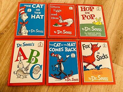 £10.99 • Buy Dr Suess Classic Collection Book X6 Fox In Socks Cat Hat. Hardback