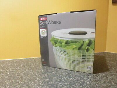 £14.16 • Buy OXO Softworks Salad Spinner #1045421.   NEW In Box.