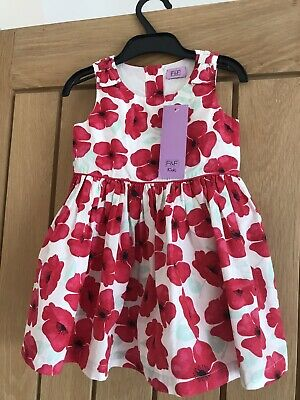 £1.70 • Buy F&F 12-18 Months Floral Lined Dress