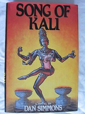 AU64.85 • Buy 1st/1st SONG OF KALI Book Signed By Dan Simmons Blue Jay 1985 FREE SHIPPING
