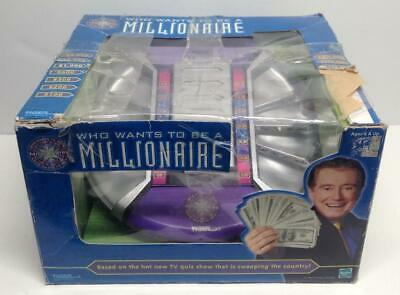 £33.16 • Buy 2001 Electronic Who Wants To Be A Millionaire Game [~COMPLETE~]