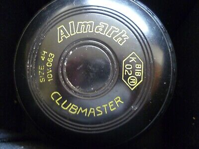 £45 • Buy Lawn Bowls And Bag  Almark  Clubmaster Size 4